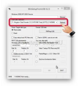 Установка Windows с загрузочной флешки