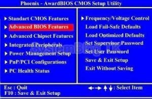 Настройка AMI и Award (Phoenix) BIOS для установки Windows