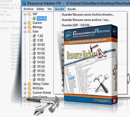 Resource Hacker для Windows