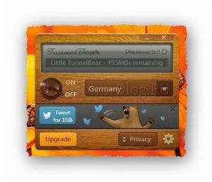 Скачать TunnelBear для смены IP