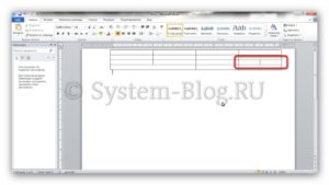 Как сделать таблицу в Word: главные инструменты