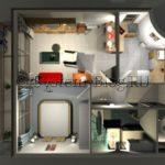 Программа для расстановки мебели и интерьере: кроссплатформенный Sweet Home 3D