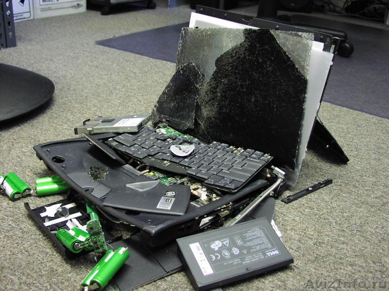 Три распространенных причины поломки компьютера