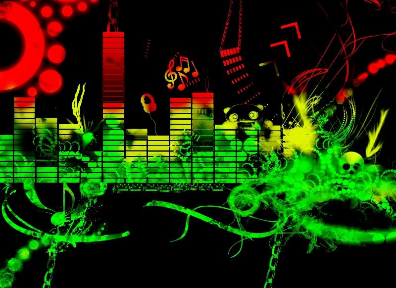 Скачать NeonVisual и сделать эквалайзерную подсветку