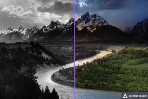Результат работы Colorize Photos