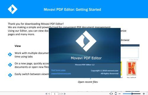 Как редактировать PDF-файл программой Movavi PDF-редактор